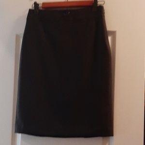 NWTs Banana Republic black skirt